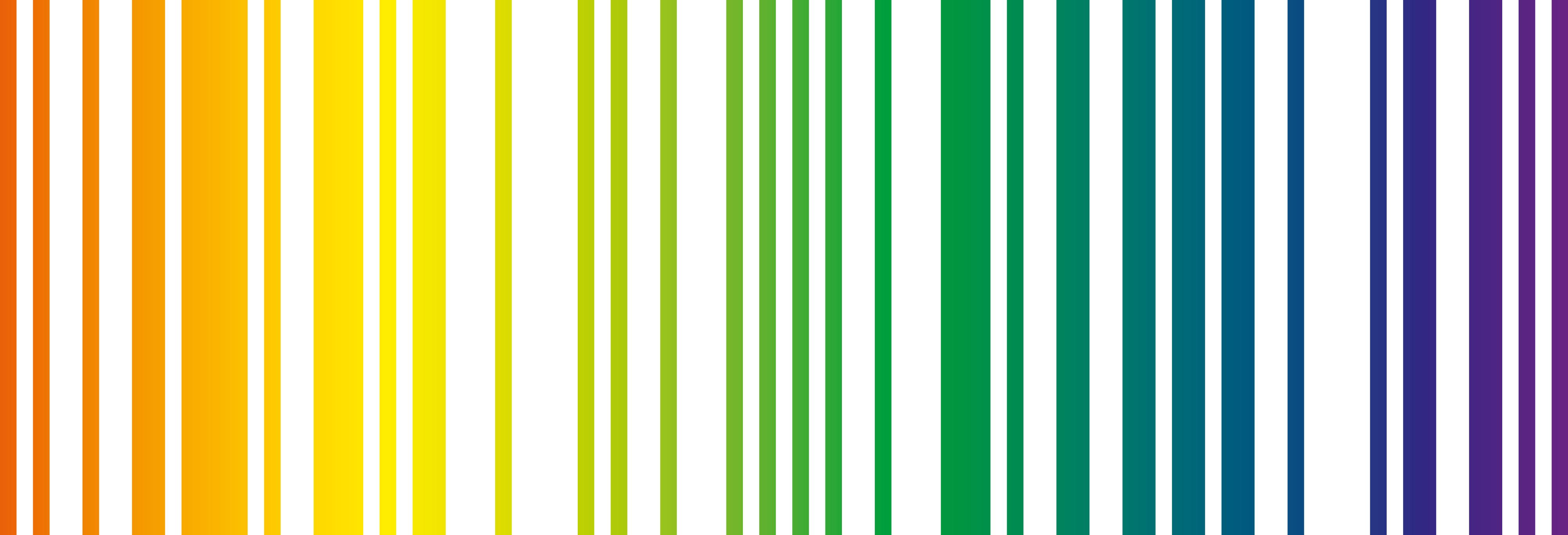 Znalezione obrazy dla zapytania kod paskowy kolorowy