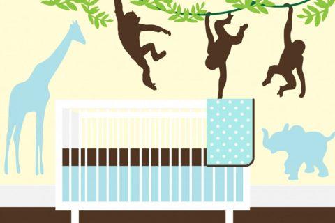 Jak wybrać ciekawe naklejki na ścianę dla dzieci?